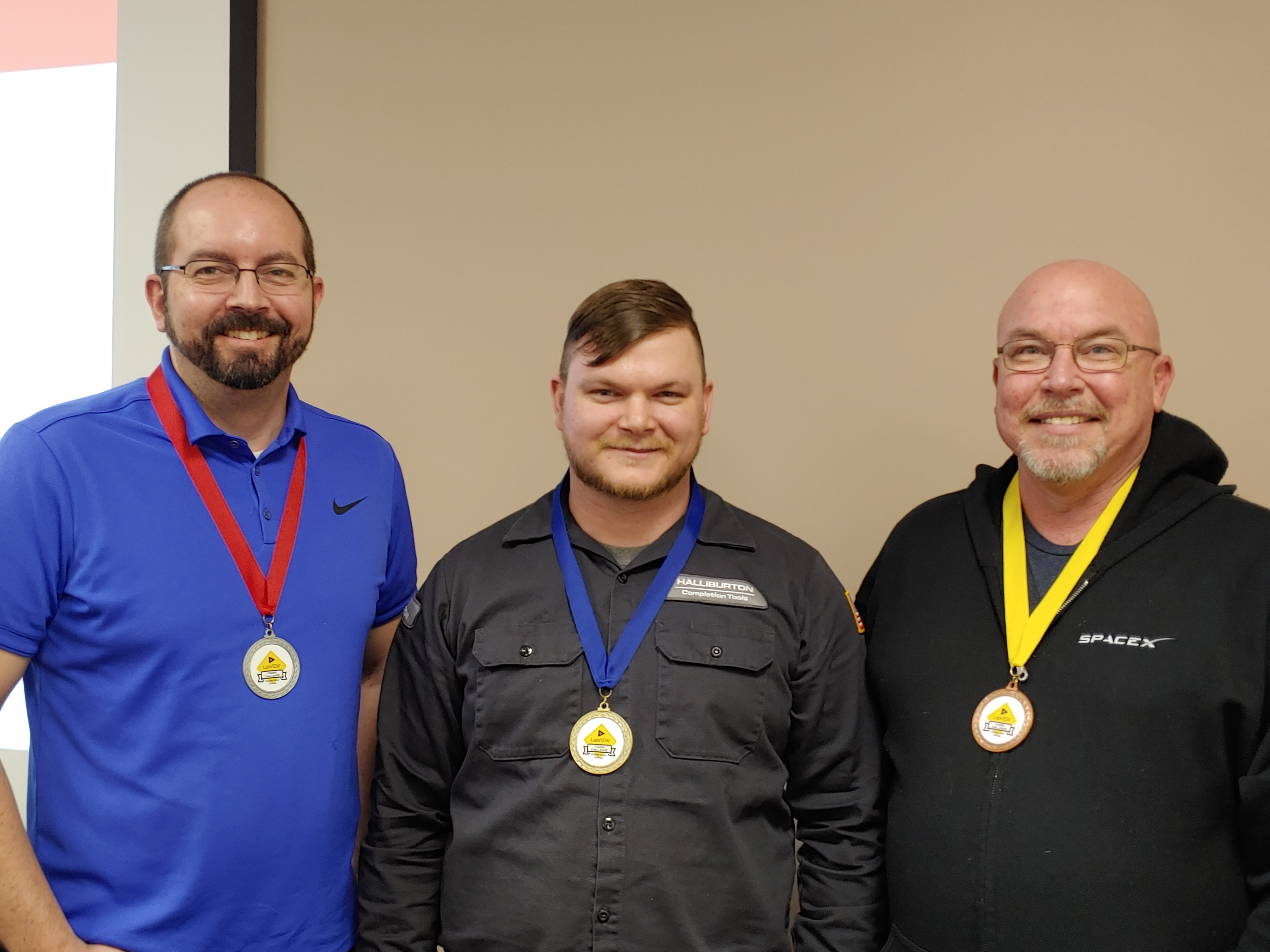 LabVIEW Coding Challenge Winners Dallas